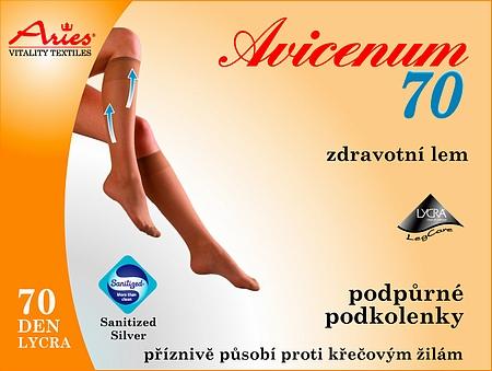 7fbc01aed0f Avicenum 70 - podpůrné podkolenky - Zdravotní potřeby Liberec