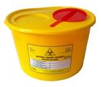Nádoba na kontaminovaný odpad 3,5-4 litry