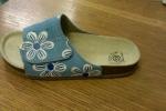 Zdravotní korkové pantofle